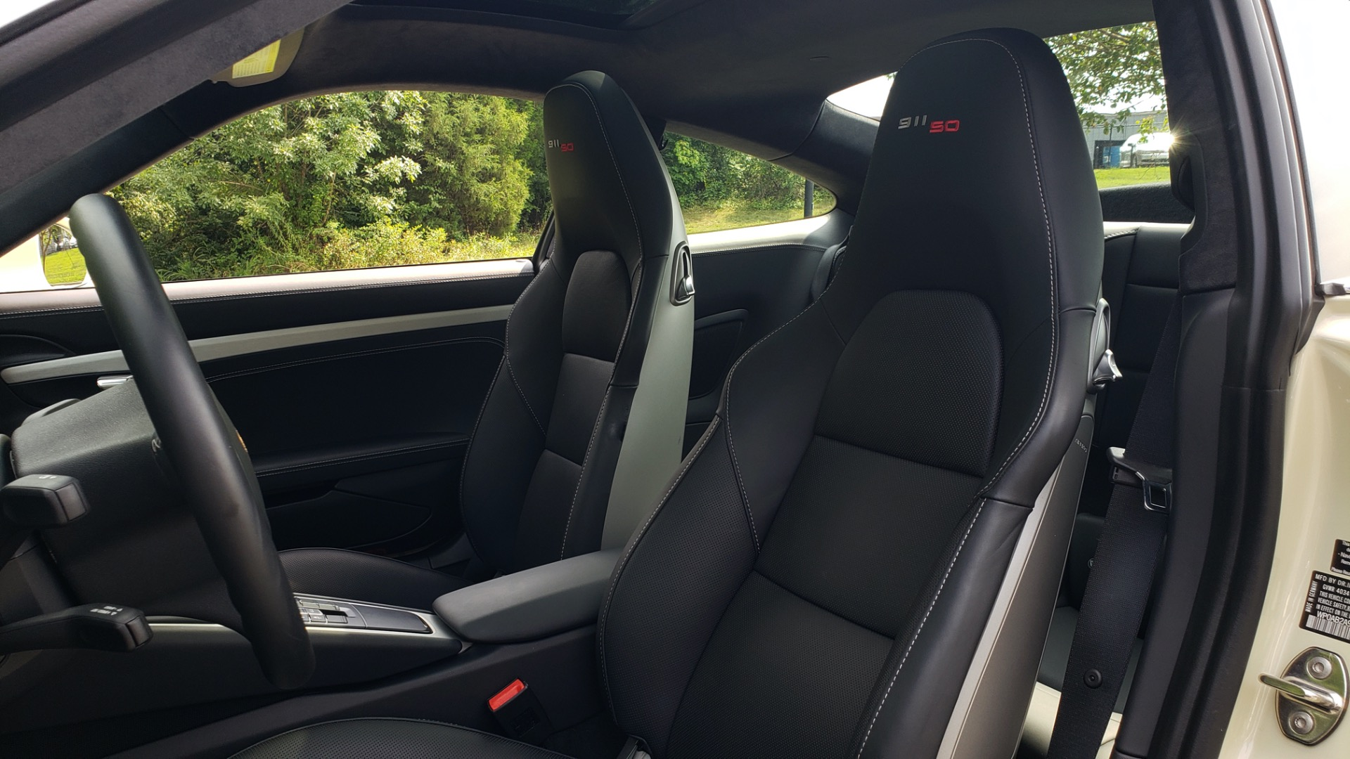 Used 2014 Porsche 911 50TH ANNIVERSARY EDITION NO. 0423 / 7-SPD MAN / NAV / BOSE for sale $118,999 at Formula One Imports in Charlotte NC 28227 50