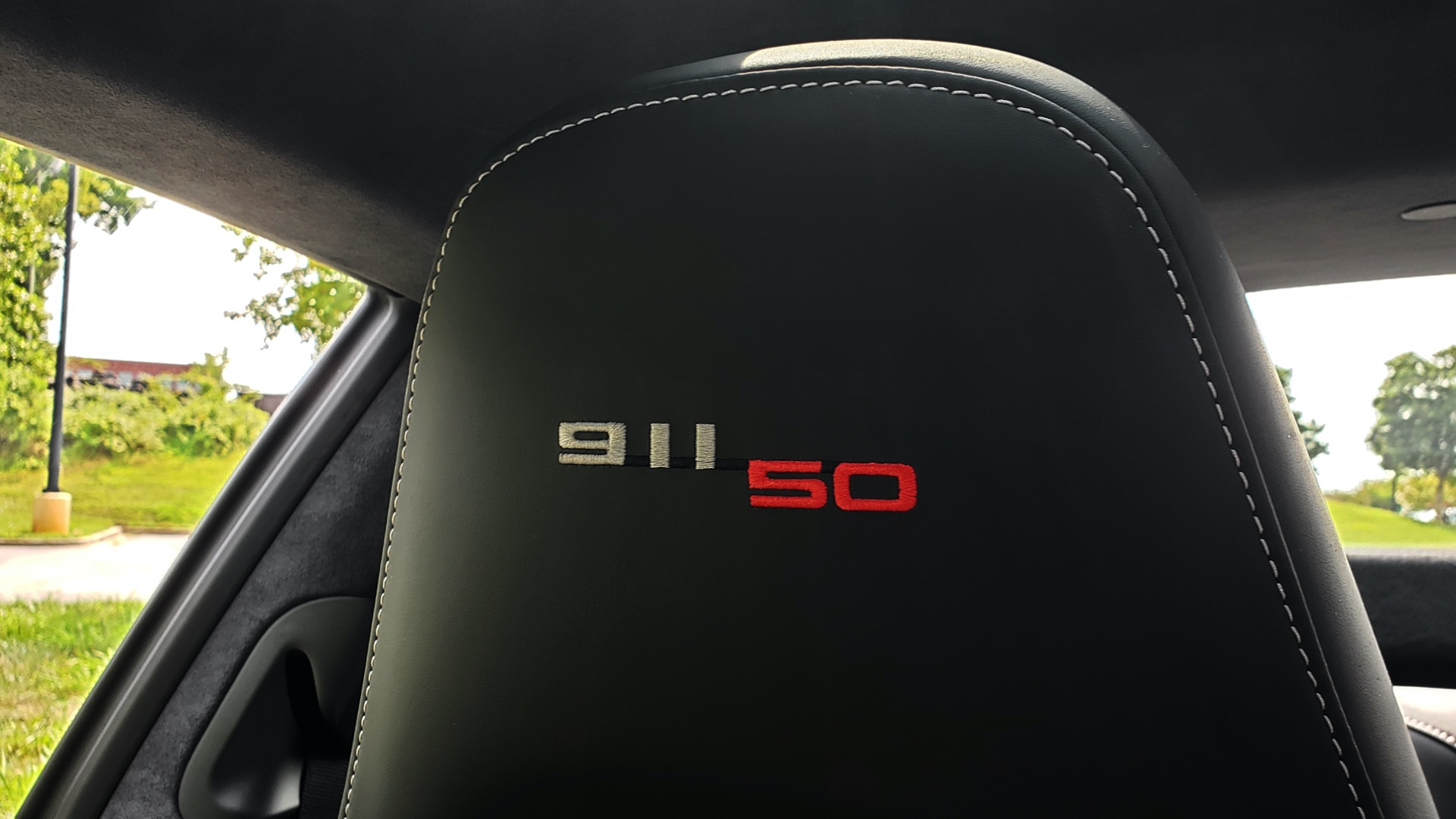 Used 2014 Porsche 911 50TH ANNIVERSARY EDITION NO. 0423 / 7-SPD MAN / NAV / BOSE for sale $118,999 at Formula One Imports in Charlotte NC 28227 56