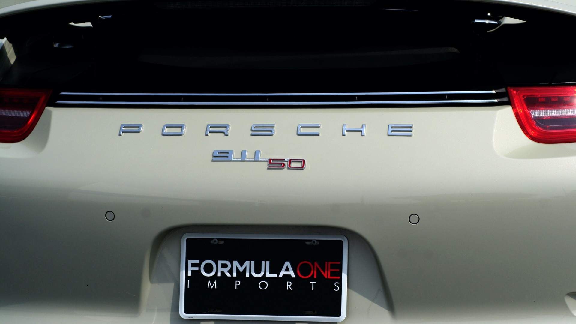 Used 2014 Porsche 911 50TH ANNIVERSARY EDITION NO. 0423 / 7-SPD MAN / NAV / BOSE for sale $118,999 at Formula One Imports in Charlotte NC 28227 83