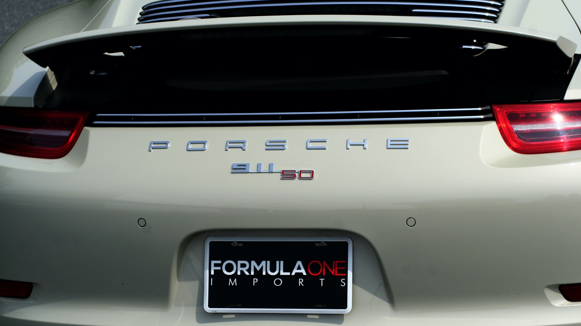 Used 2014 Porsche 911 50TH ANNIVERSARY EDITION NO. 0423 / 7-SPD MAN / NAV / BOSE for sale $118,999 at Formula One Imports in Charlotte NC 28227 84