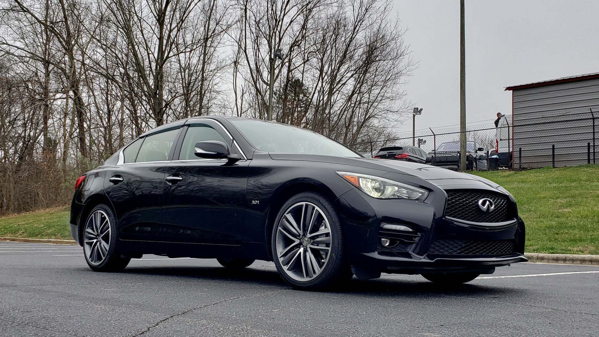 Used 2016 INFINITI Q50 3.0t PREMIUM SPORT AWD / NAV / SUNROOF / HTD STS / REARVIEW for sale Sold at Formula Imports in Charlotte NC 28227 11