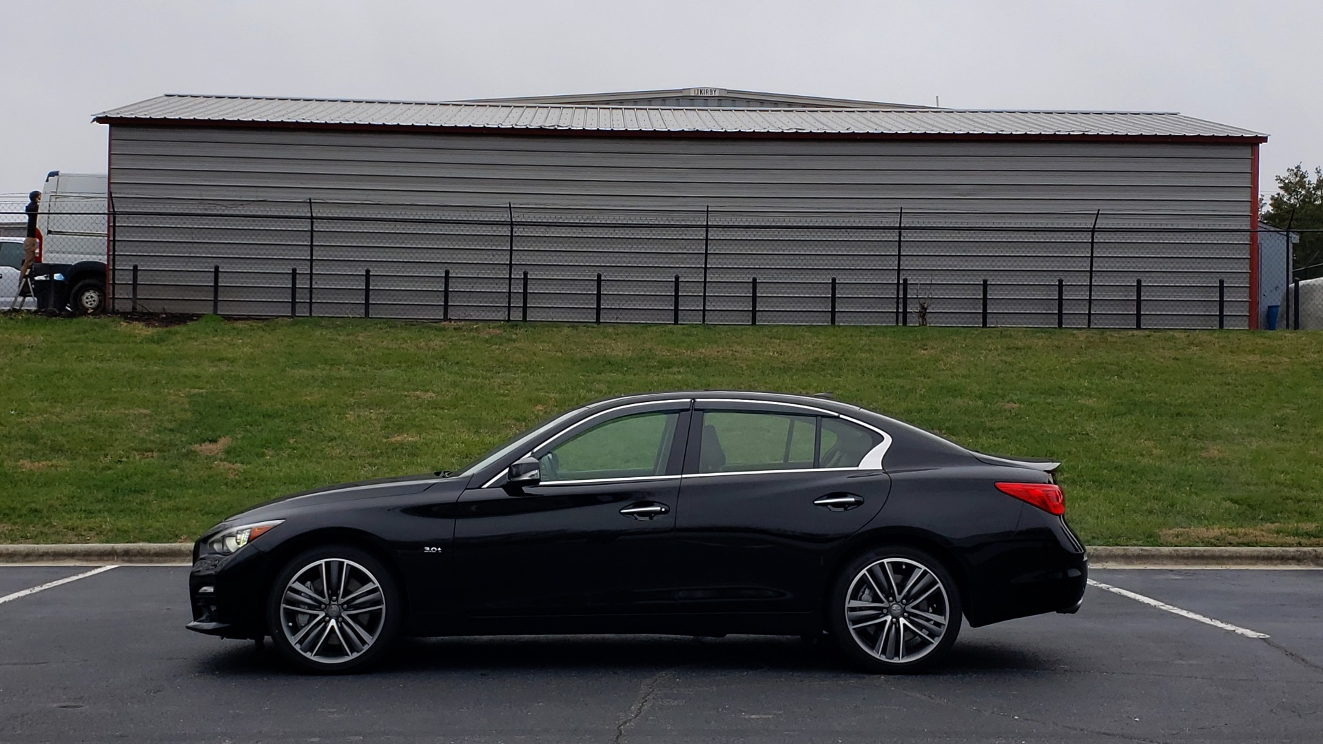 Used 2016 INFINITI Q50 3.0t PREMIUM SPORT AWD / NAV / SUNROOF / HTD STS / REARVIEW for sale Sold at Formula Imports in Charlotte NC 28227 2