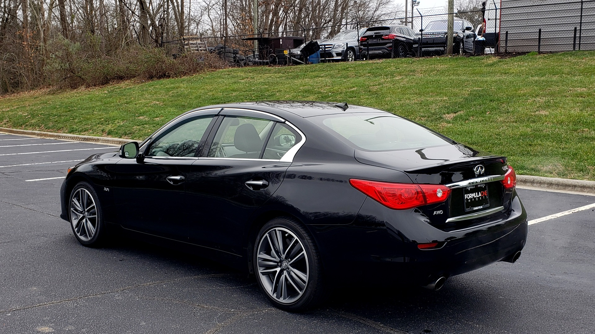 Used 2016 INFINITI Q50 3.0t PREMIUM SPORT AWD / NAV / SUNROOF / HTD STS / REARVIEW for sale Sold at Formula Imports in Charlotte NC 28227 3