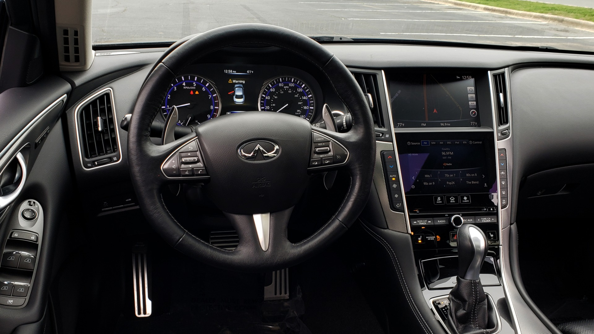 Used 2016 INFINITI Q50 3.0t PREMIUM SPORT AWD / NAV / SUNROOF / HTD STS / REARVIEW for sale Sold at Formula Imports in Charlotte NC 28227 40