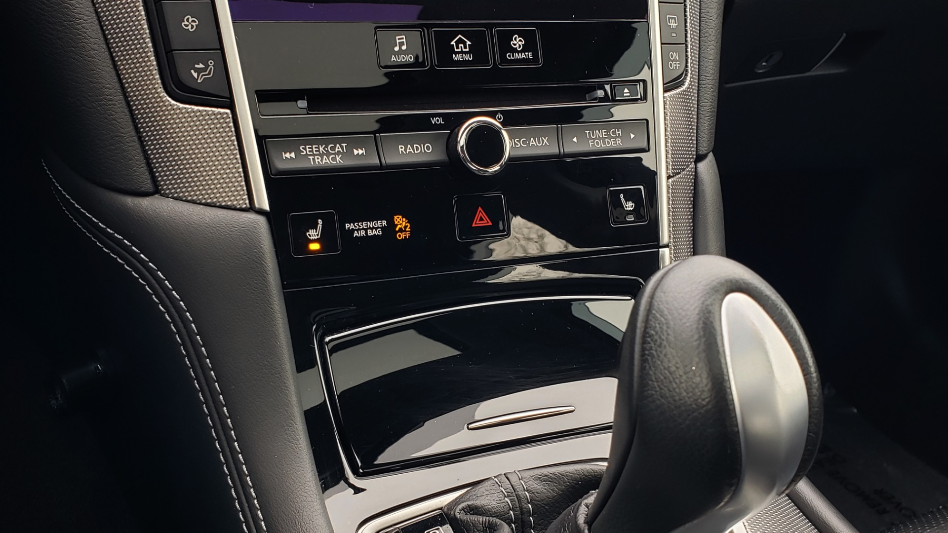 Used 2016 INFINITI Q50 3.0t PREMIUM SPORT AWD / NAV / SUNROOF / HTD STS / REARVIEW for sale Sold at Formula Imports in Charlotte NC 28227 49