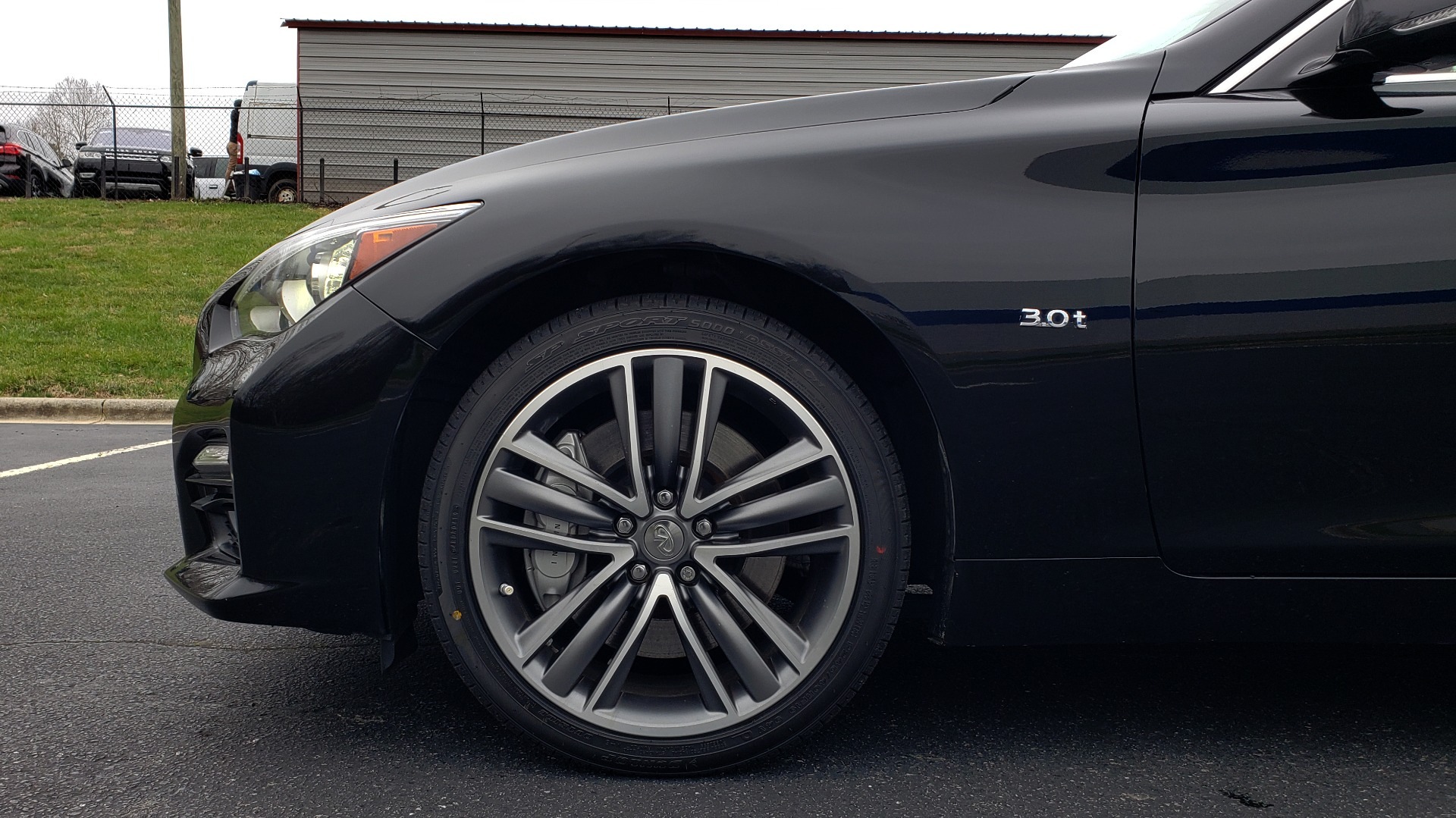 Used 2016 INFINITI Q50 3.0t PREMIUM SPORT AWD / NAV / SUNROOF / HTD STS / REARVIEW for sale Sold at Formula Imports in Charlotte NC 28227 79