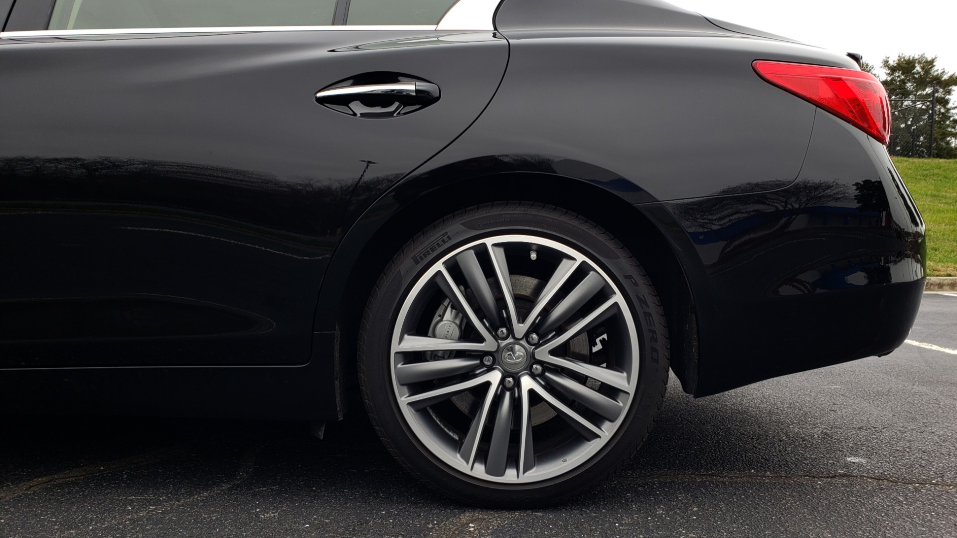 Used 2016 INFINITI Q50 3.0t PREMIUM SPORT AWD / NAV / SUNROOF / HTD STS / REARVIEW for sale Sold at Formula Imports in Charlotte NC 28227 80