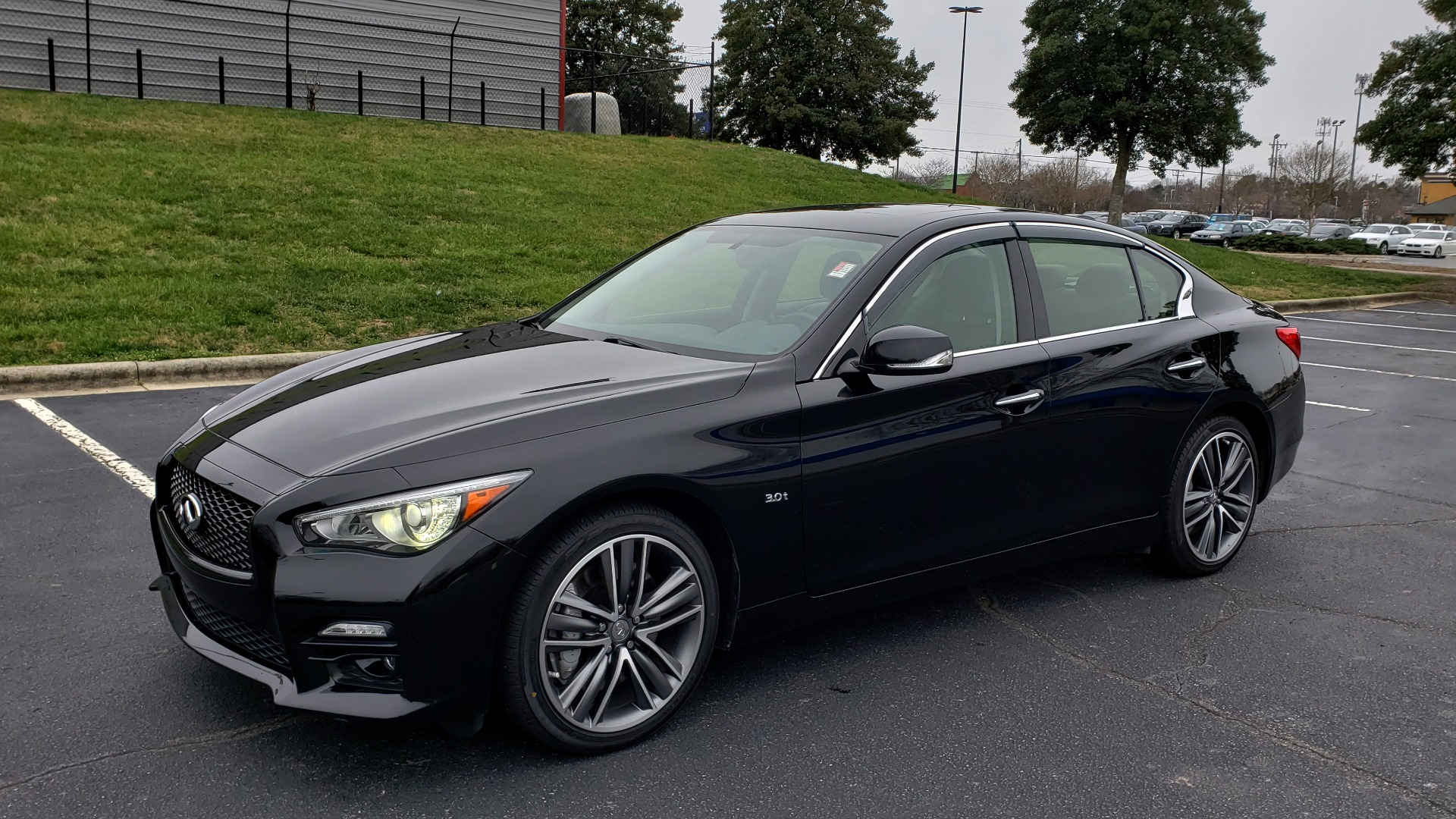 Used 2016 Infiniti Q50 3.0t PREMIUM SPORT AWD / NAV / SUNROOF / HTD STS / REARVIEW for sale Sold at Formula Imports in Charlotte NC 28227 1