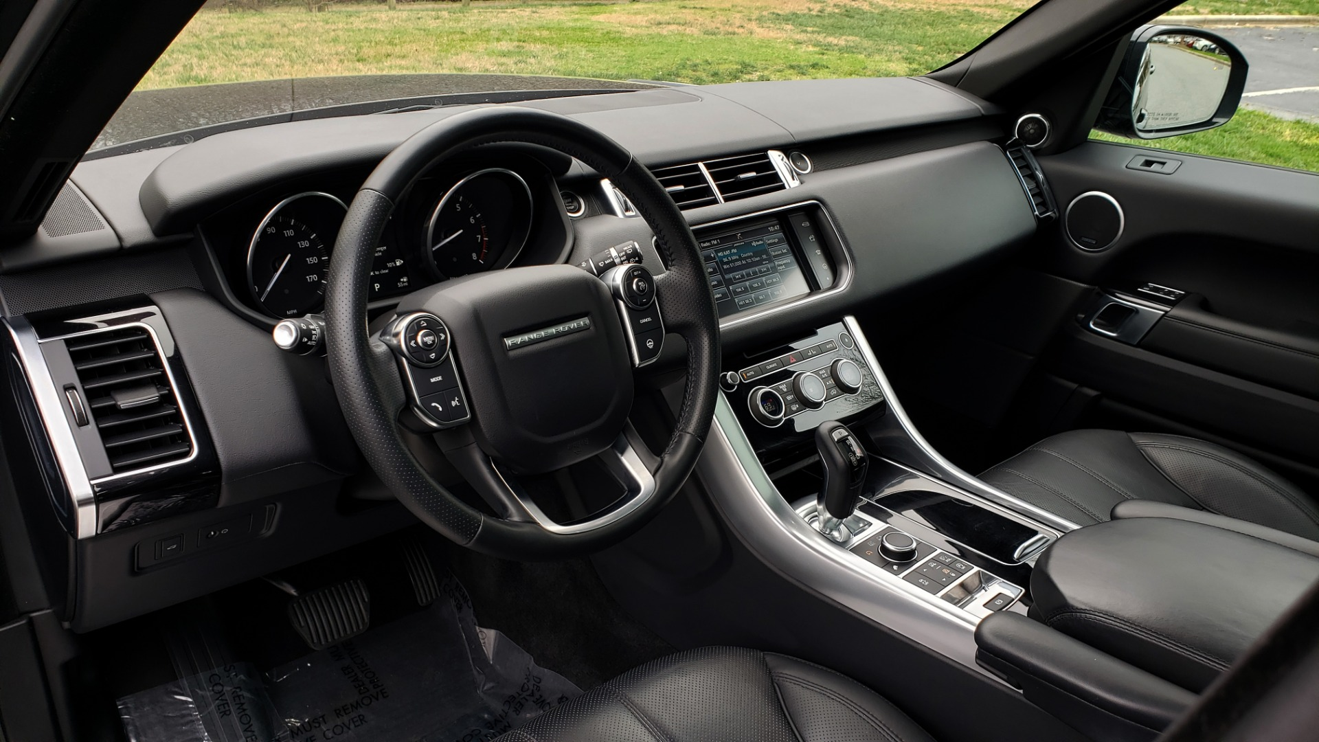 Used 2016 Land Rover RANGE ROVER SPORT SC V6 HSE / NAV / SUNROOF / REARVIEW / MERIDIAN for sale Sold at Formula Imports in Charlotte NC 28227 40