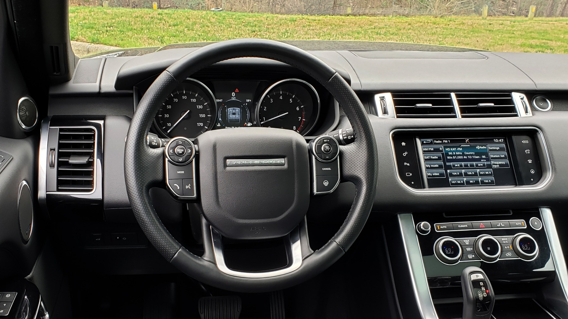 Used 2016 Land Rover RANGE ROVER SPORT SC V6 HSE / NAV / SUNROOF / REARVIEW / MERIDIAN for sale Sold at Formula Imports in Charlotte NC 28227 41