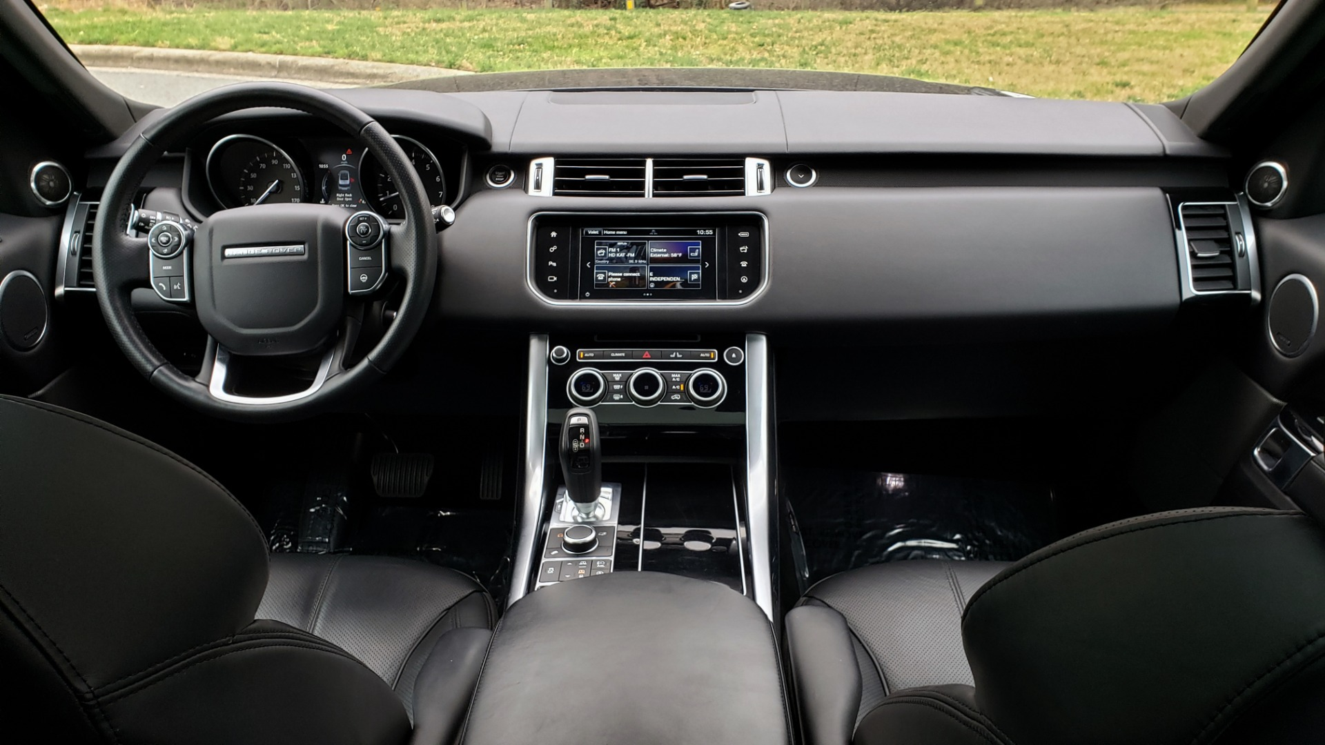 Used 2016 Land Rover RANGE ROVER SPORT SC V6 HSE / NAV / SUNROOF / REARVIEW / MERIDIAN for sale Sold at Formula Imports in Charlotte NC 28227 80