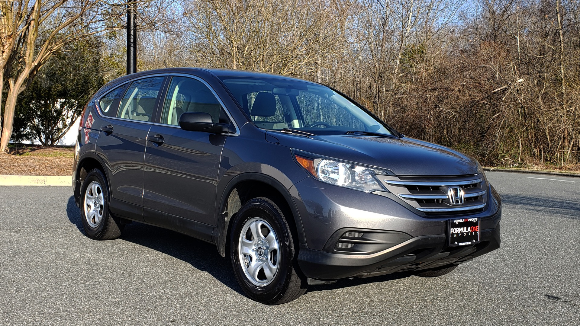 Used 2013 Honda CR-V LX 5-PASS SUV / PWR WNDWS / PWR LKS / VERY CLEAN! for sale Sold at Formula Imports in Charlotte NC 28227 4