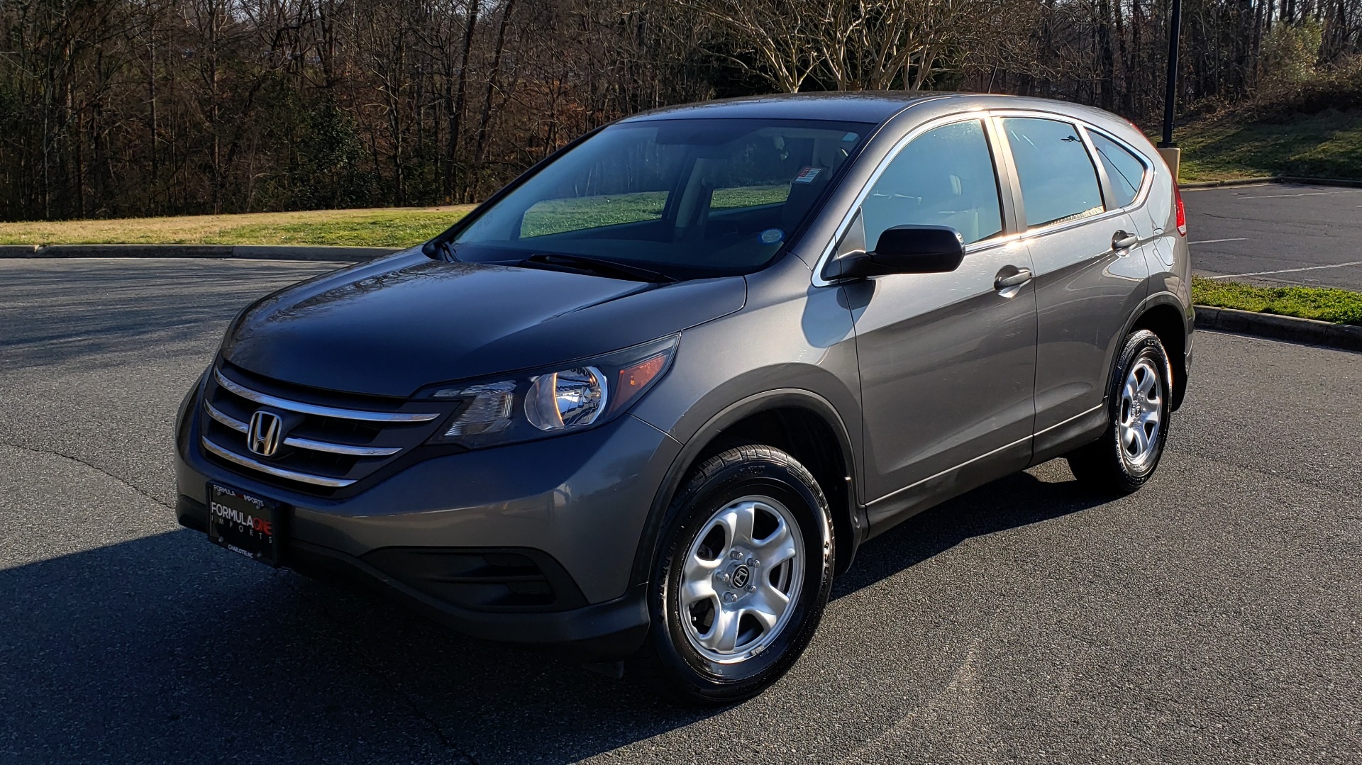 Used 2013 Honda CR-V LX 5-PASS SUV / PWR WNDWS / PWR LKS / VERY CLEAN! for sale Sold at Formula Imports in Charlotte NC 28227 1