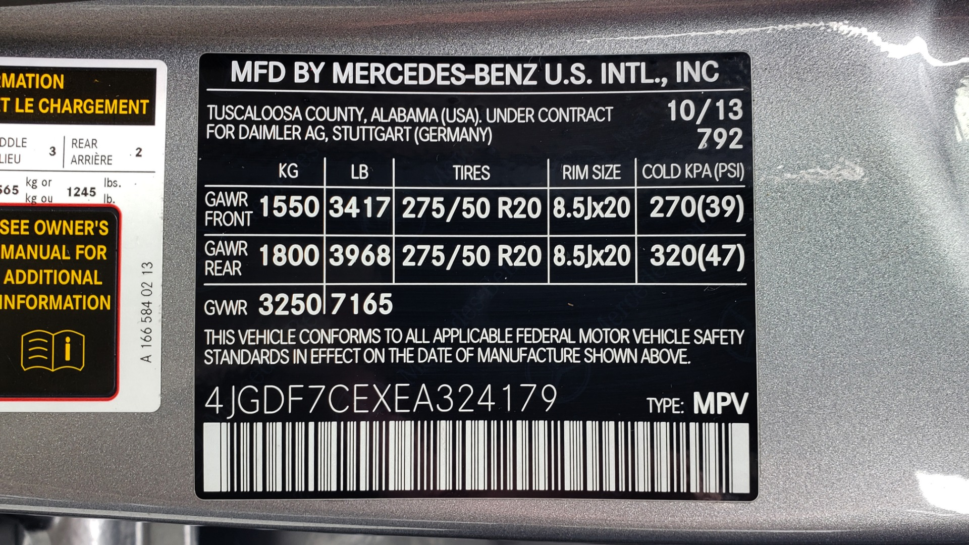 Used 2014 Mercedes-Benz GL-Class GL 450 4MATIC PREMIUM / NAV / PANO-ROOF / HK SND / 3-ROW for sale Sold at Formula Imports in Charlotte NC 28227 98