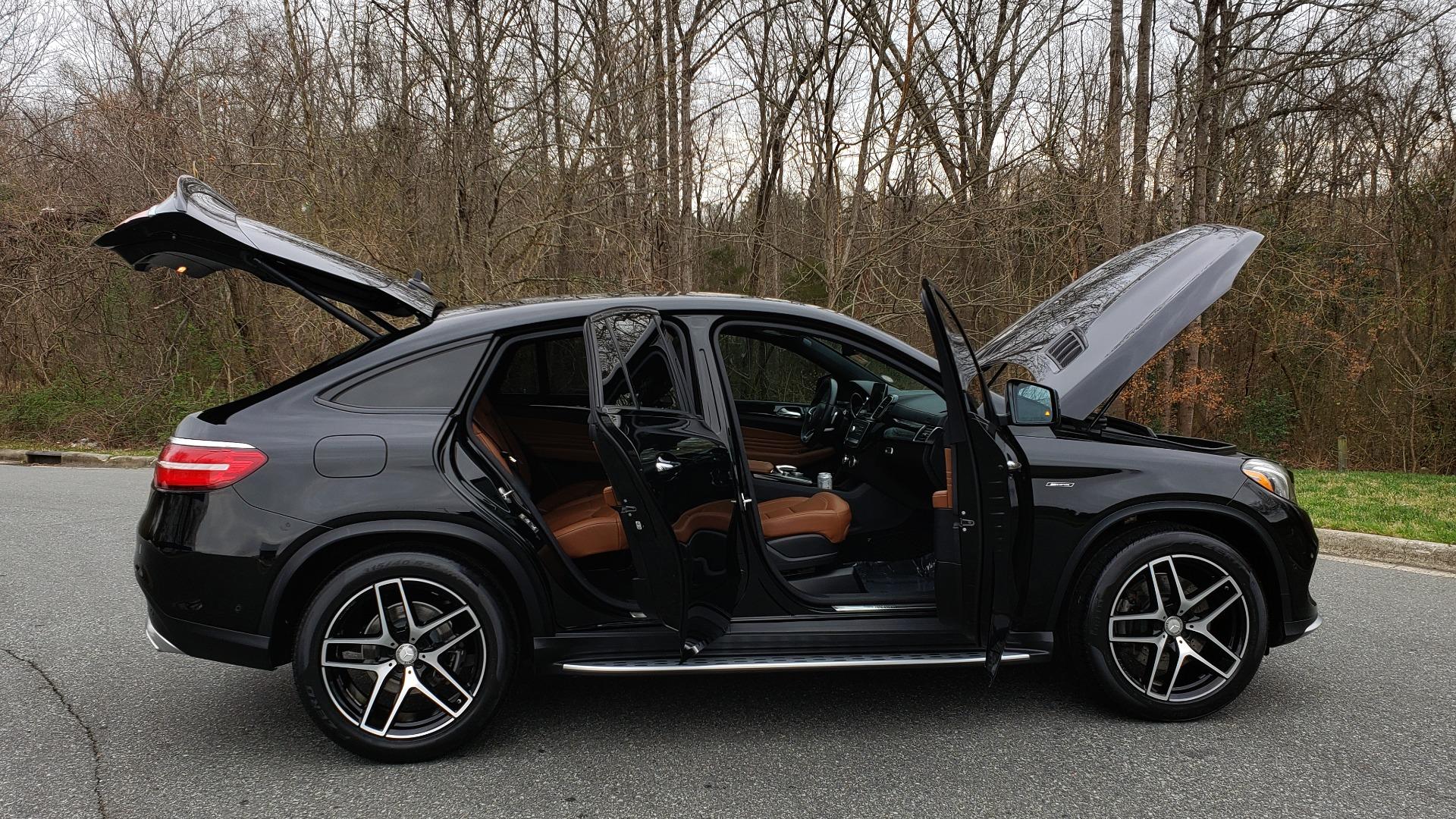 Used 2016 Mercedes-Benz GLE 450 AMG / AWD / PREM PKG / PARK ASST / DRVR ASST / SUNROOF for sale Sold at Formula Imports in Charlotte NC 28227 11