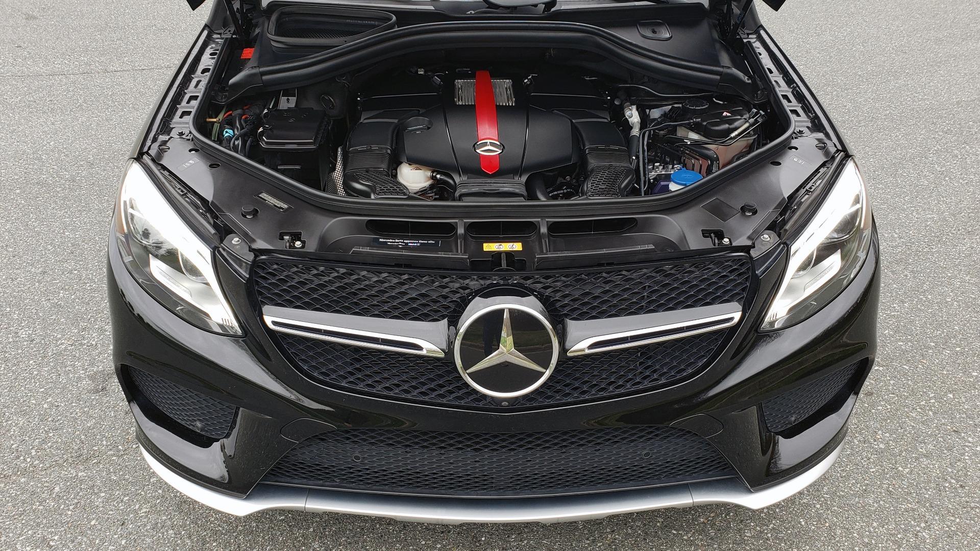 Used 2016 Mercedes-Benz GLE 450 AMG / AWD / PREM PKG / PARK ASST / DRVR ASST / SUNROOF for sale Sold at Formula Imports in Charlotte NC 28227 12