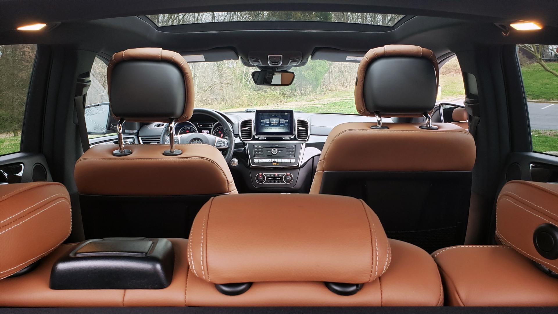Used 2016 Mercedes-Benz GLE 450 AMG / AWD / PREM PKG / PARK ASST / DRVR ASST / SUNROOF for sale Sold at Formula Imports in Charlotte NC 28227 21