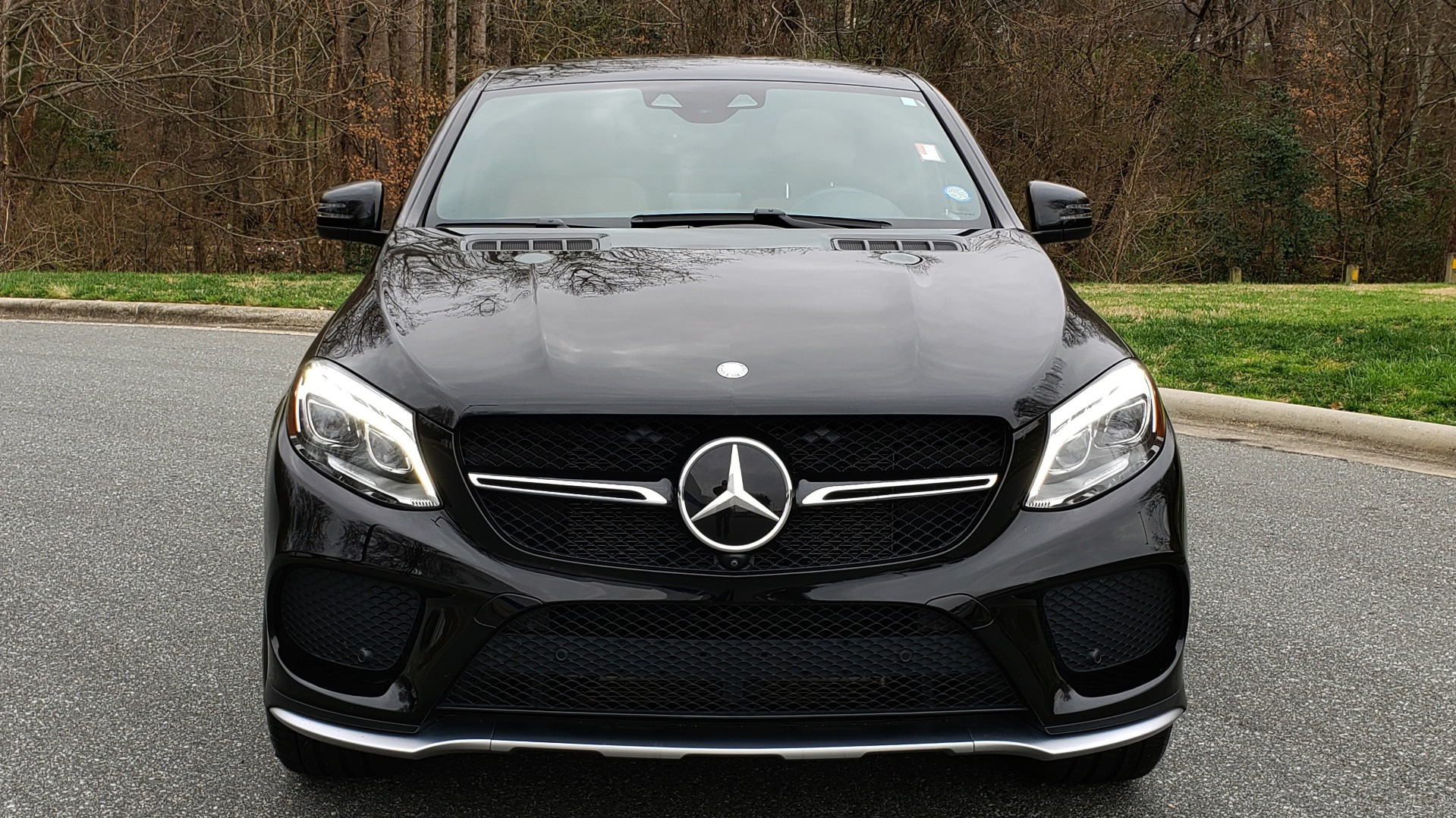 Used 2016 Mercedes-Benz GLE 450 AMG / AWD / PREM PKG / PARK ASST / DRVR ASST / SUNROOF for sale Sold at Formula Imports in Charlotte NC 28227 24