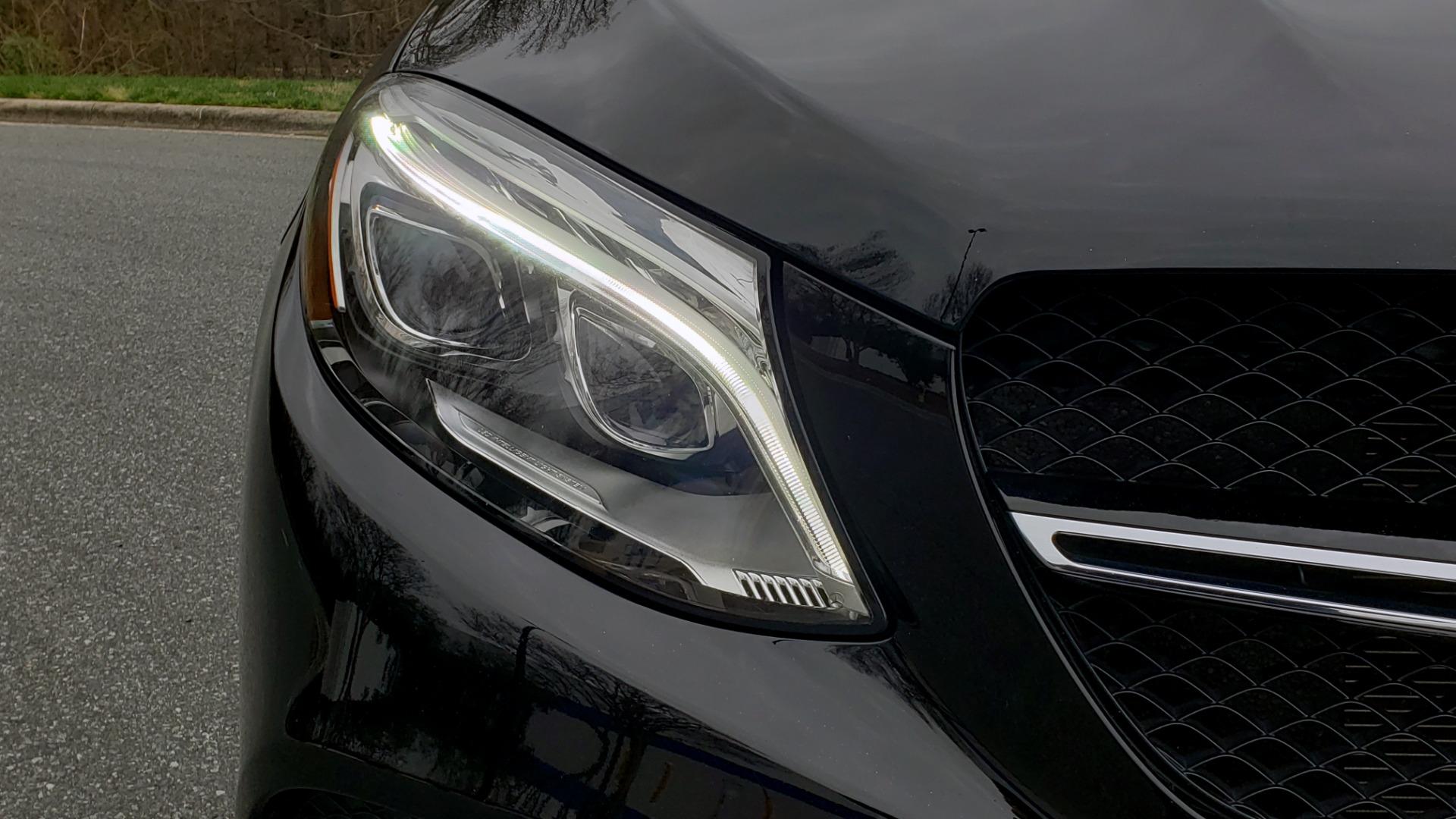 Used 2016 Mercedes-Benz GLE 450 AMG / AWD / PREM PKG / PARK ASST / DRVR ASST / SUNROOF for sale Sold at Formula Imports in Charlotte NC 28227 26