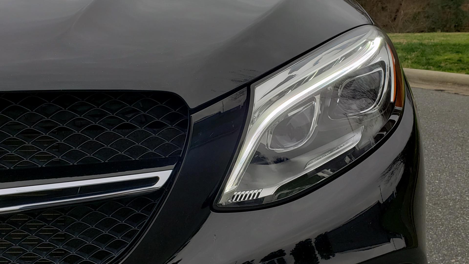Used 2016 Mercedes-Benz GLE 450 AMG / AWD / PREM PKG / PARK ASST / DRVR ASST / SUNROOF for sale Sold at Formula Imports in Charlotte NC 28227 27