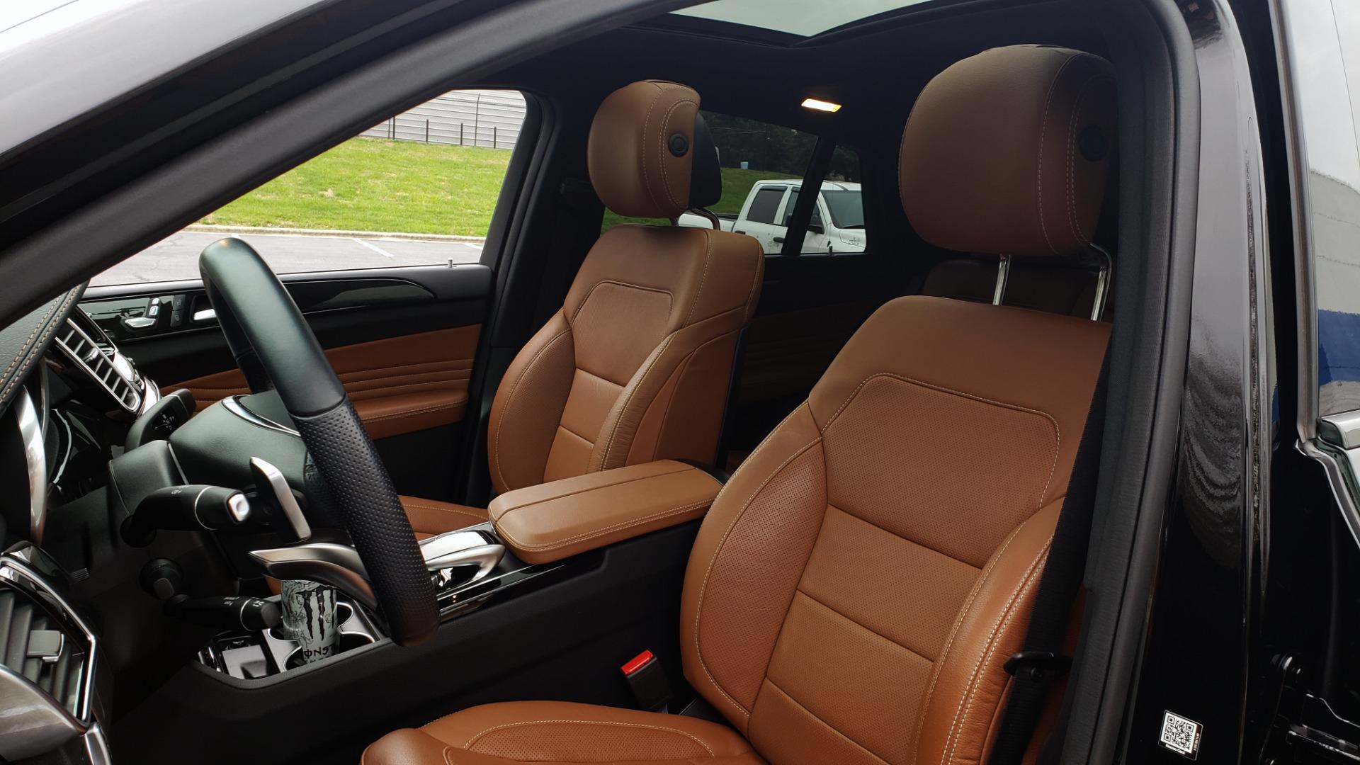 Used 2016 Mercedes-Benz GLE 450 AMG / AWD / PREM PKG / PARK ASST / DRVR ASST / SUNROOF for sale Sold at Formula Imports in Charlotte NC 28227 39
