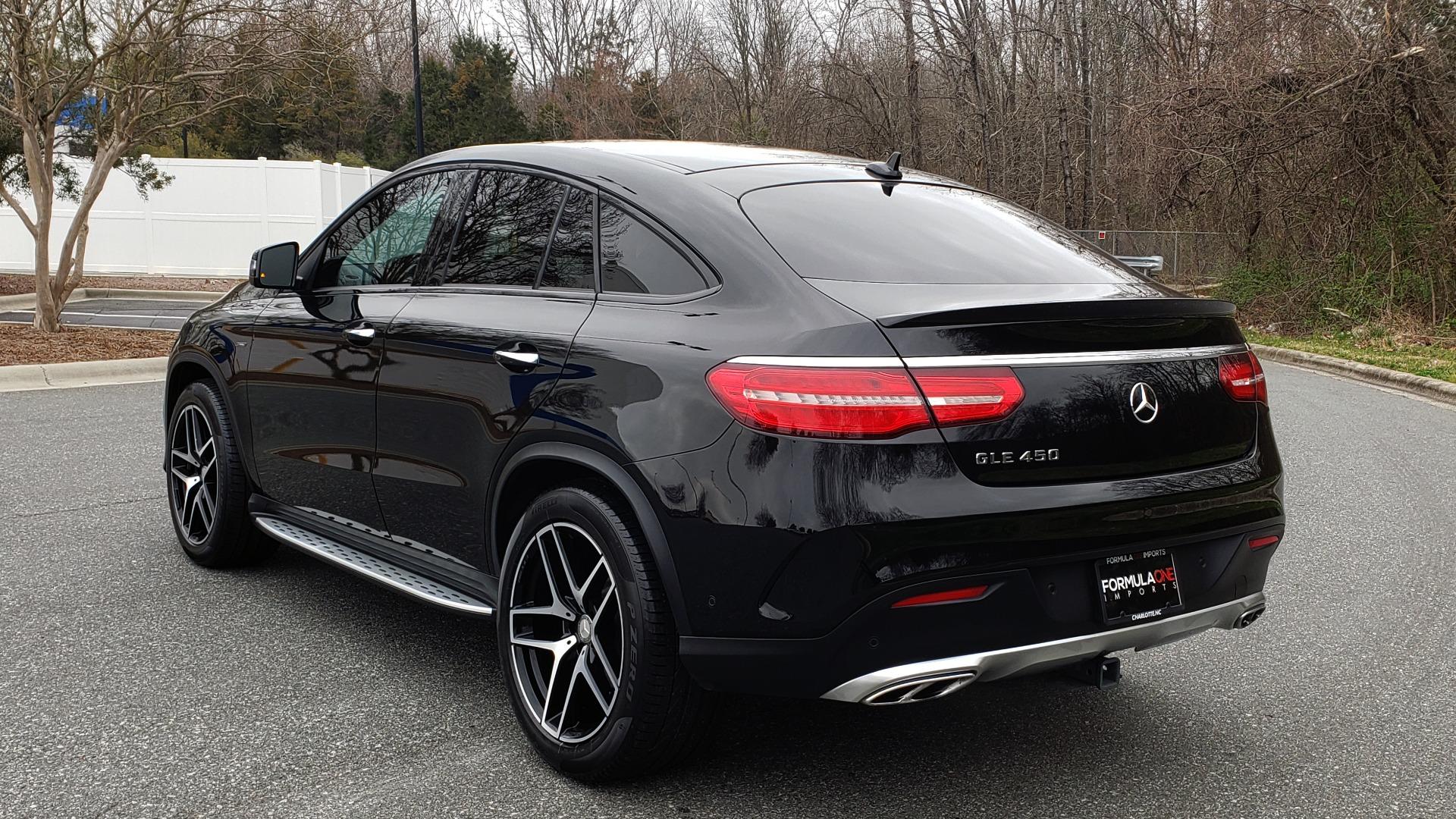 Used 2016 Mercedes-Benz GLE 450 AMG / AWD / PREM PKG / PARK ASST / DRVR ASST / SUNROOF for sale Sold at Formula Imports in Charlotte NC 28227 4