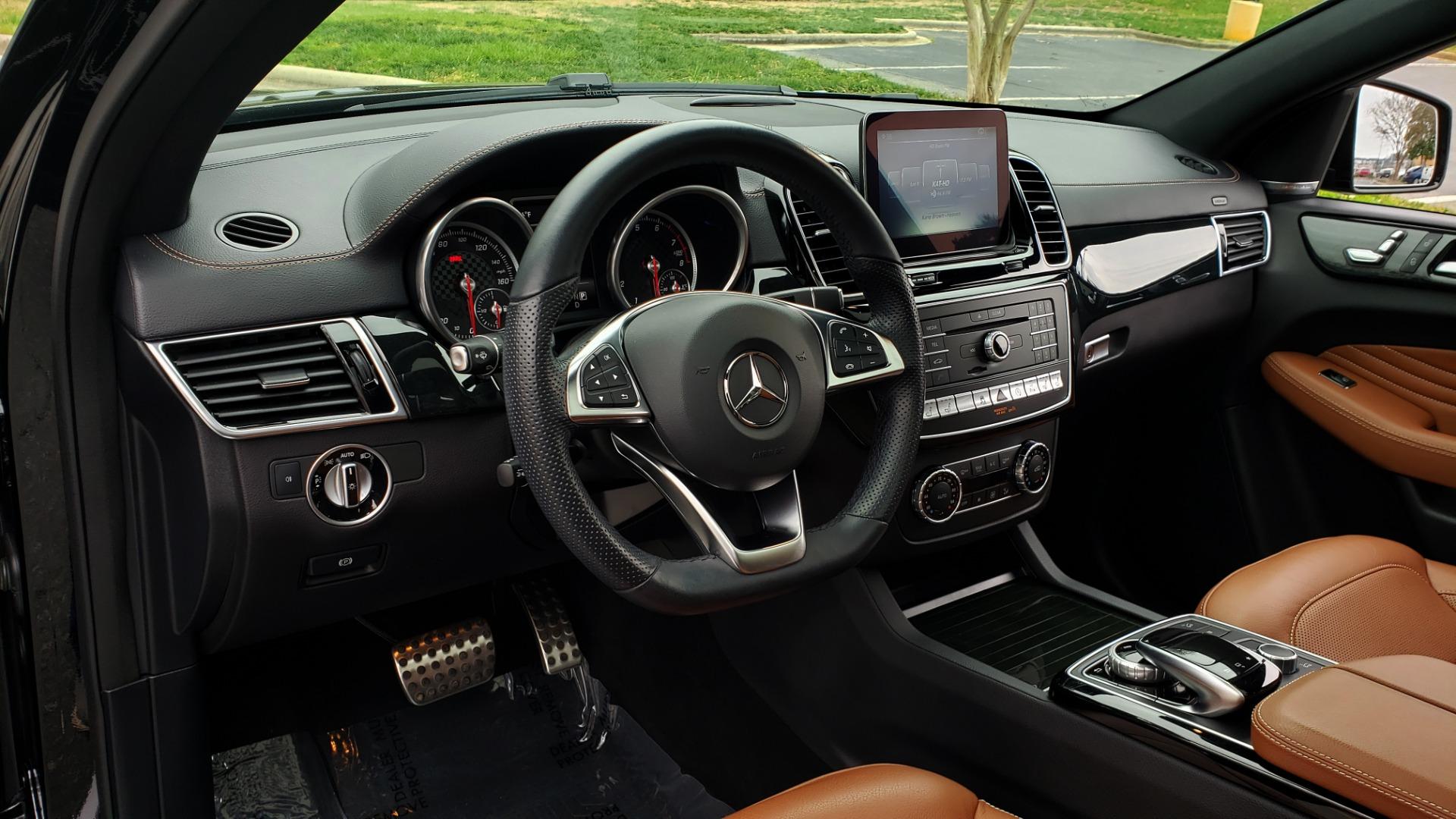 Used 2016 Mercedes-Benz GLE 450 AMG / AWD / PREM PKG / PARK ASST / DRVR ASST / SUNROOF for sale Sold at Formula Imports in Charlotte NC 28227 41