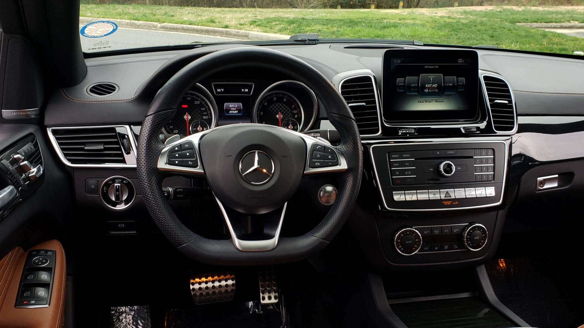 Used 2016 Mercedes-Benz GLE 450 AMG / AWD / PREM PKG / PARK ASST / DRVR ASST / SUNROOF for sale Sold at Formula Imports in Charlotte NC 28227 42
