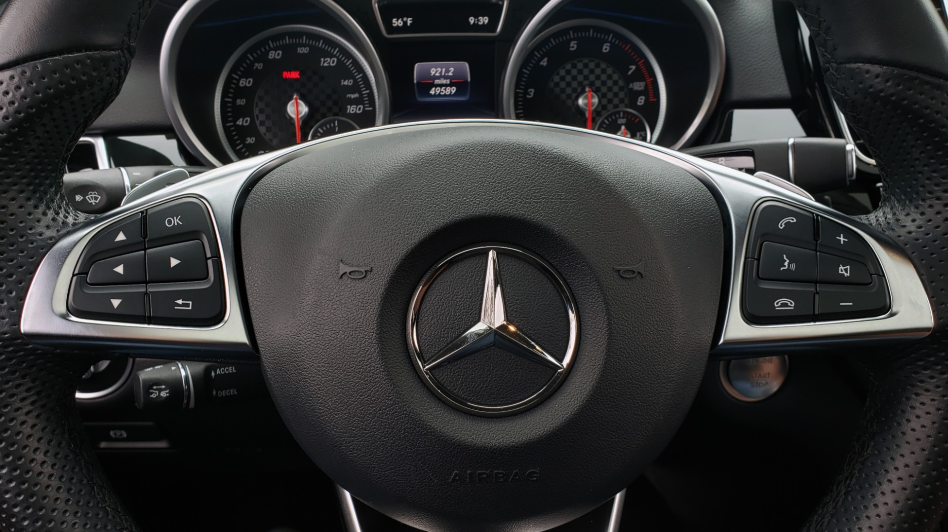 Used 2016 Mercedes-Benz GLE 450 AMG / AWD / PREM PKG / PARK ASST / DRVR ASST / SUNROOF for sale Sold at Formula Imports in Charlotte NC 28227 44