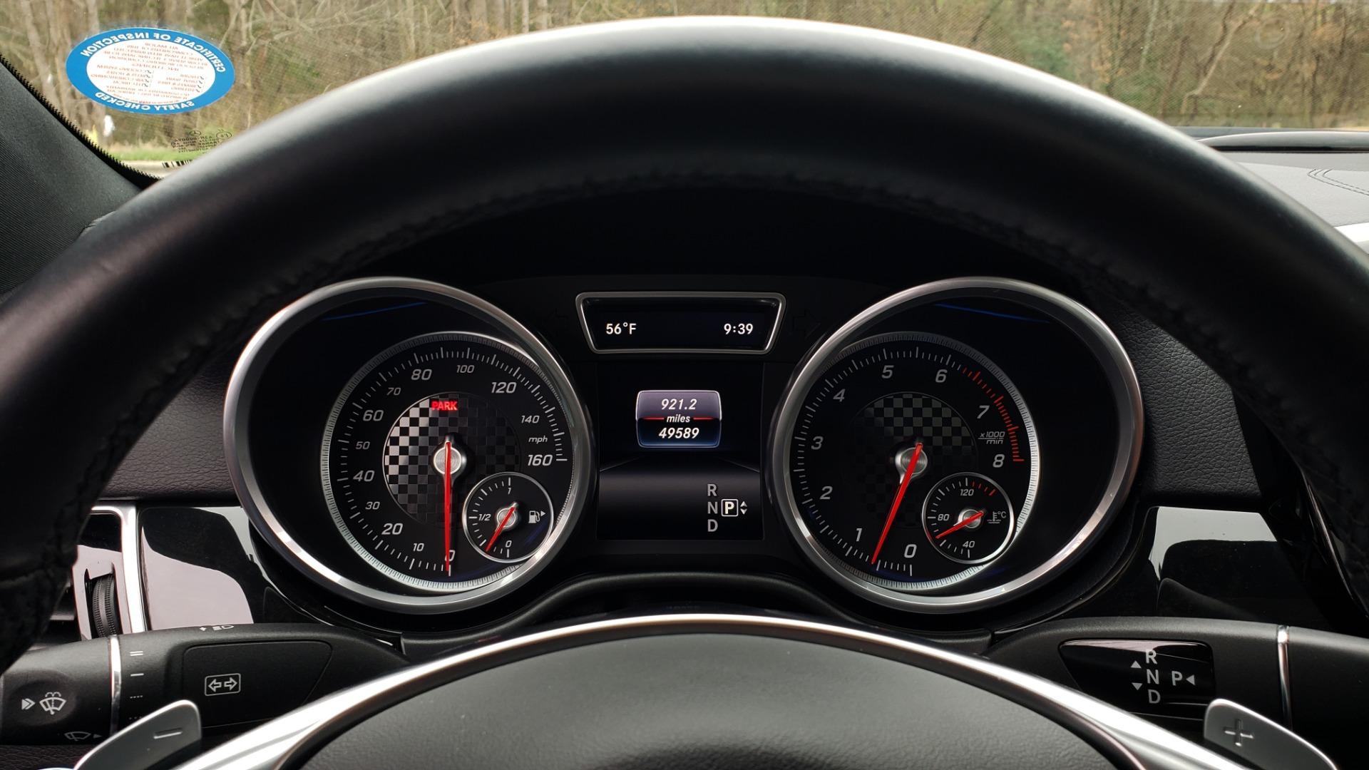 Used 2016 Mercedes-Benz GLE 450 AMG / AWD / PREM PKG / PARK ASST / DRVR ASST / SUNROOF for sale Sold at Formula Imports in Charlotte NC 28227 45