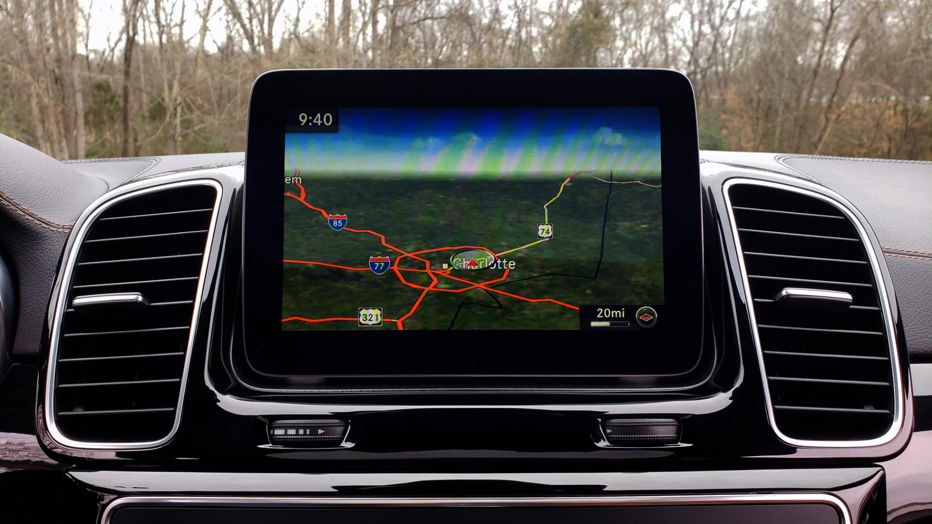 Used 2016 Mercedes-Benz GLE 450 AMG / AWD / PREM PKG / PARK ASST / DRVR ASST / SUNROOF for sale Sold at Formula Imports in Charlotte NC 28227 50