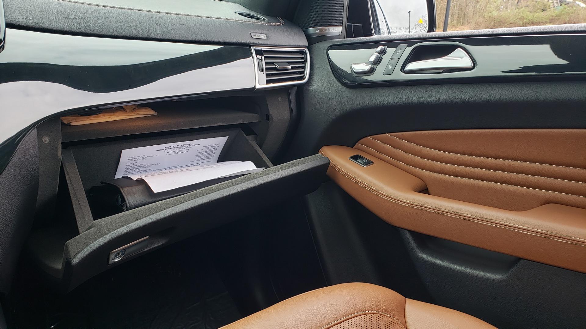 Used 2016 Mercedes-Benz GLE 450 AMG / AWD / PREM PKG / PARK ASST / DRVR ASST / SUNROOF for sale Sold at Formula Imports in Charlotte NC 28227 56
