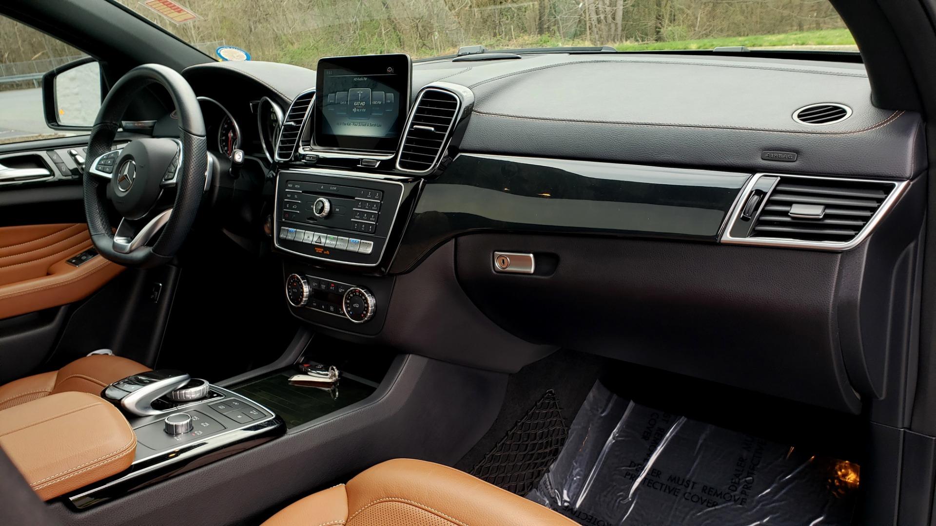 Used 2016 Mercedes-Benz GLE 450 AMG / AWD / PREM PKG / PARK ASST / DRVR ASST / SUNROOF for sale Sold at Formula Imports in Charlotte NC 28227 76