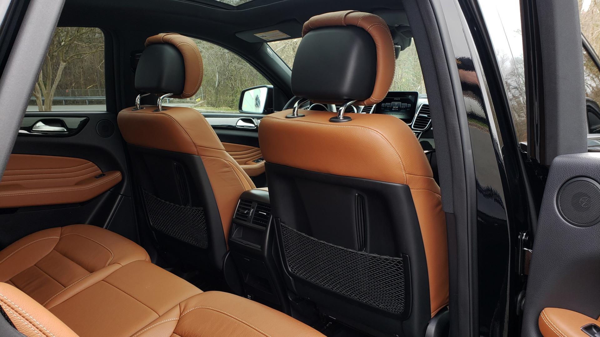 Used 2016 Mercedes-Benz GLE 450 AMG / AWD / PREM PKG / PARK ASST / DRVR ASST / SUNROOF for sale Sold at Formula Imports in Charlotte NC 28227 83