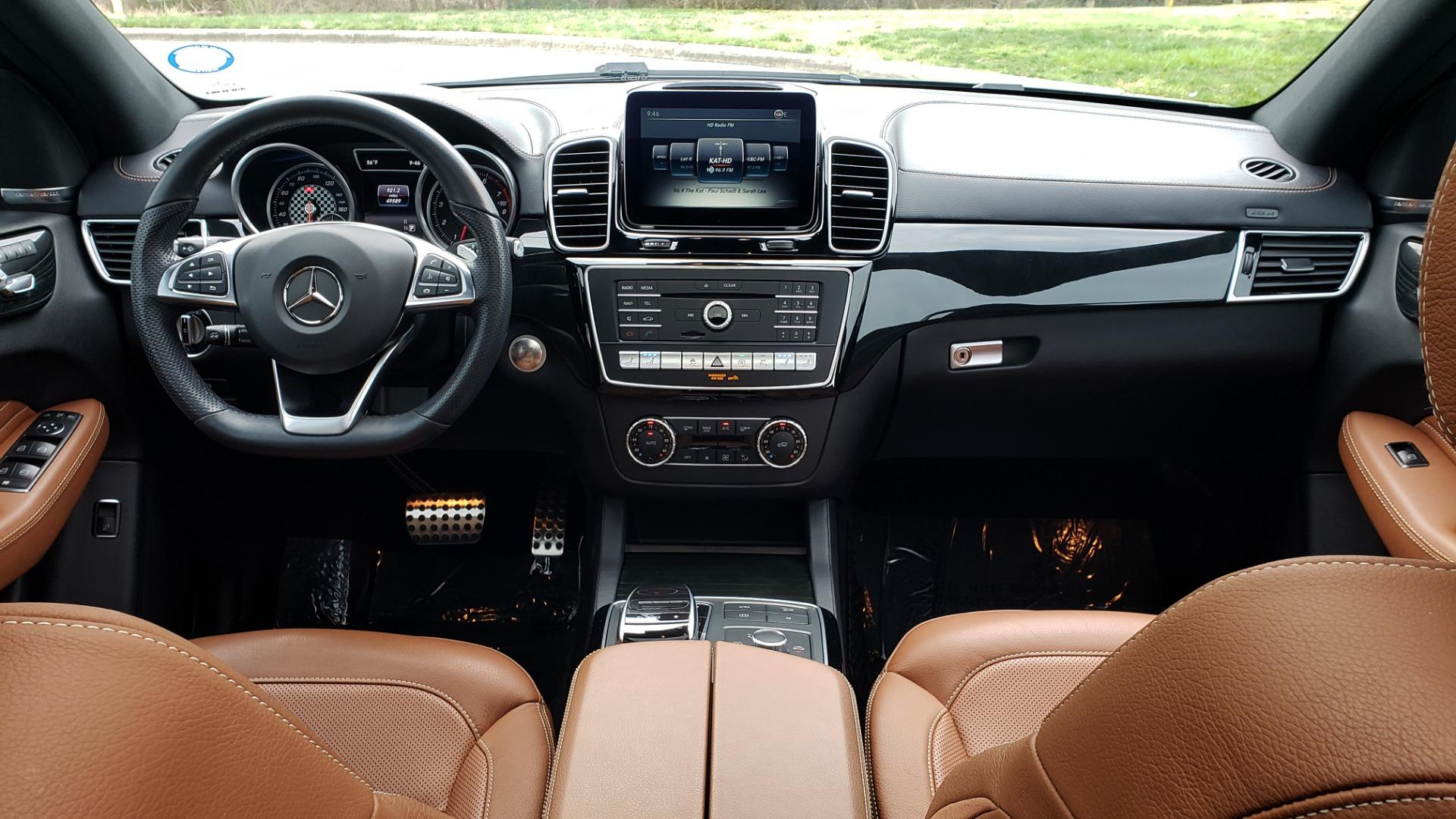 Used 2016 Mercedes-Benz GLE 450 AMG / AWD / PREM PKG / PARK ASST / DRVR ASST / SUNROOF for sale Sold at Formula Imports in Charlotte NC 28227 85