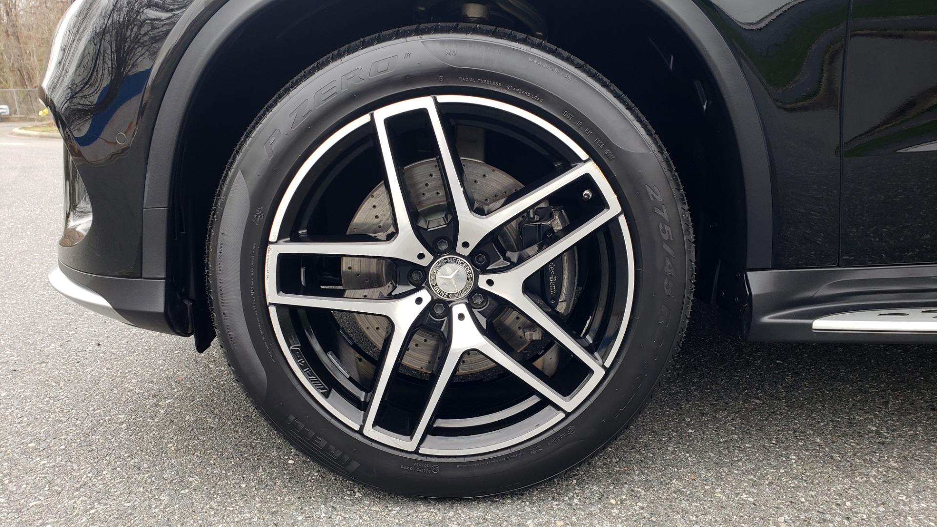 Used 2016 Mercedes-Benz GLE 450 AMG / AWD / PREM PKG / PARK ASST / DRVR ASST / SUNROOF for sale Sold at Formula Imports in Charlotte NC 28227 86