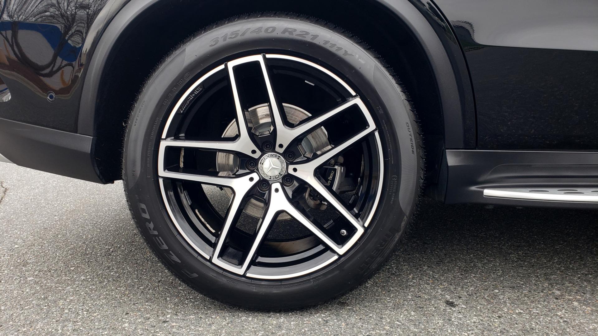 Used 2016 Mercedes-Benz GLE 450 AMG / AWD / PREM PKG / PARK ASST / DRVR ASST / SUNROOF for sale Sold at Formula Imports in Charlotte NC 28227 88