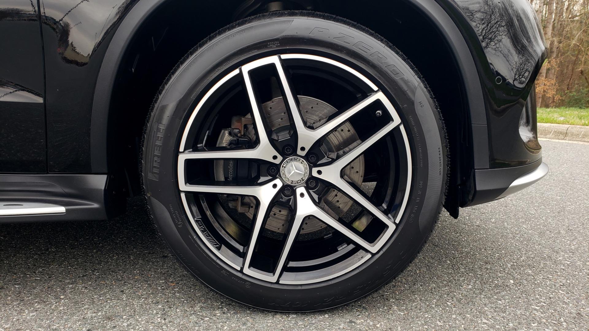 Used 2016 Mercedes-Benz GLE 450 AMG / AWD / PREM PKG / PARK ASST / DRVR ASST / SUNROOF for sale Sold at Formula Imports in Charlotte NC 28227 89