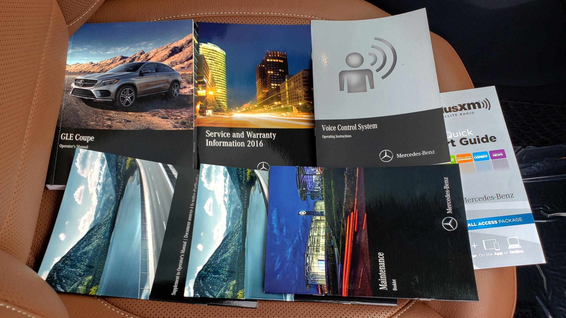 Used 2016 Mercedes-Benz GLE 450 AMG / AWD / PREM PKG / PARK ASST / DRVR ASST / SUNROOF for sale Sold at Formula Imports in Charlotte NC 28227 97