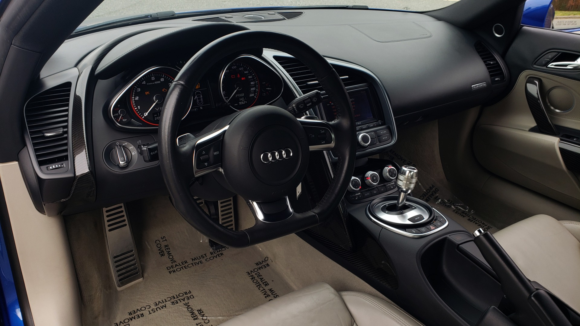 Used 2010 Audi R8 5.2L V10 / AWD / NAV / B&O SND / HTD STS / CUSTOM EXH & WHEELS for sale $78,000 at Formula Imports in Charlotte NC 28227 35