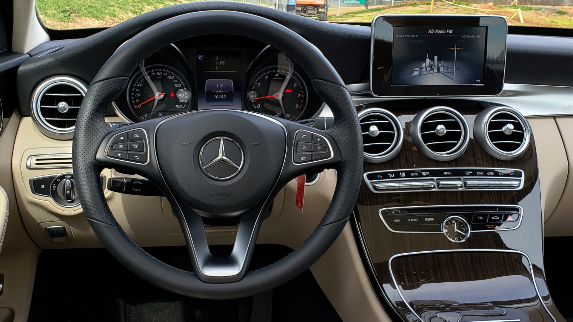 Used 2017 Mercedes-Benz C-CLASS C 300 / PREM PKG / PANO-ROOF / REARVIEW / HTD STS for sale Sold at Formula Imports in Charlotte NC 28227 27