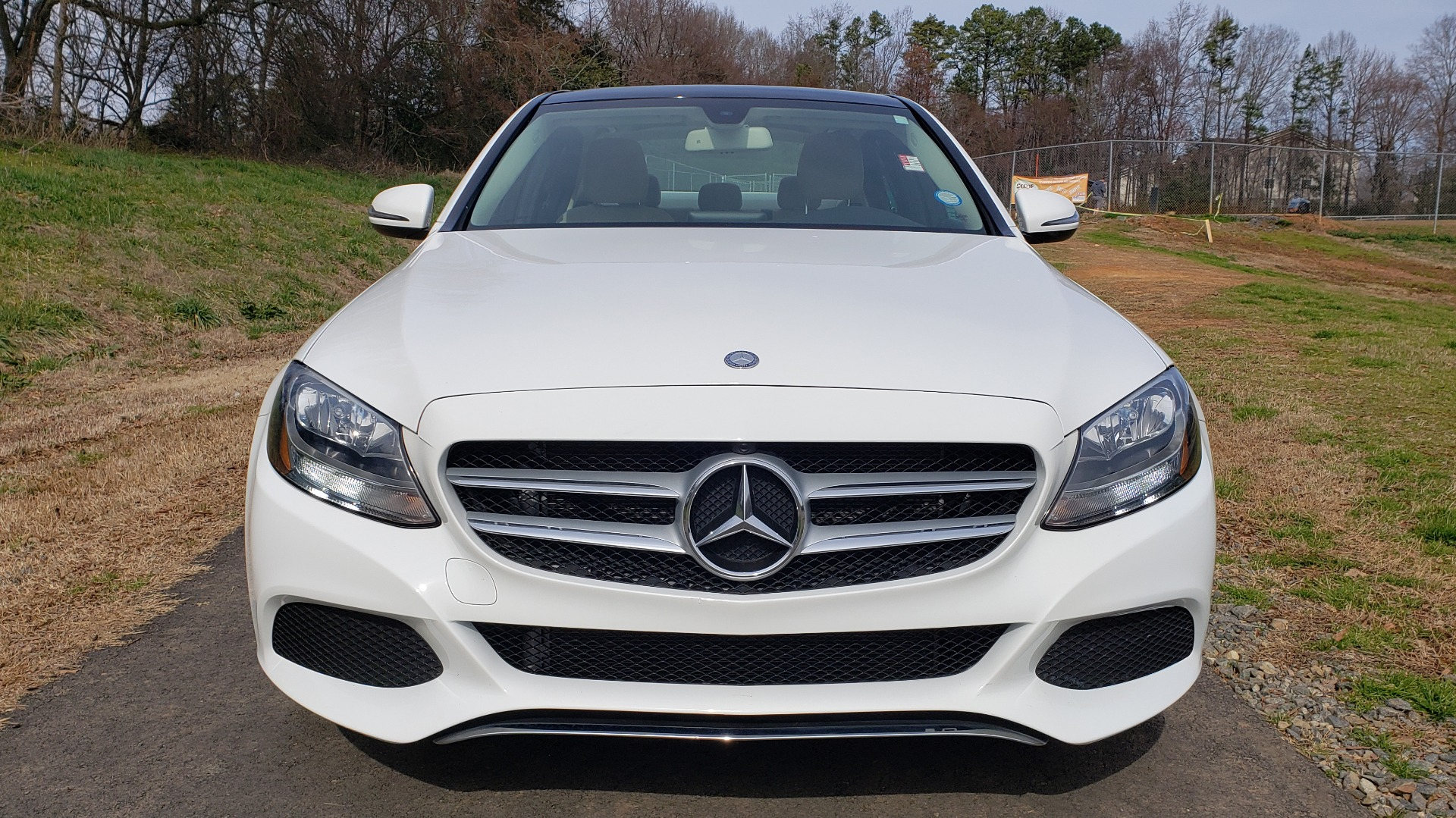 Used 2017 Mercedes-Benz C-CLASS C 300 / PREM PKG / PANO-ROOF / REARVIEW / HTD STS for sale Sold at Formula Imports in Charlotte NC 28227 9