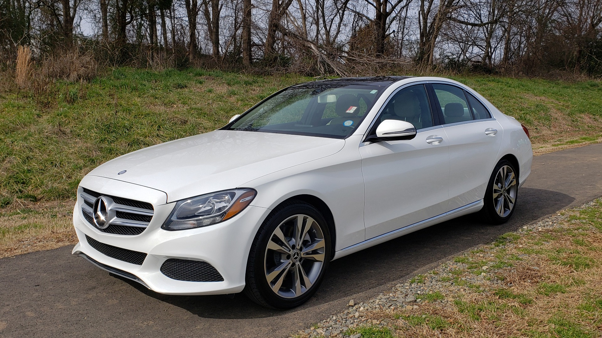 Used 2017 Mercedes-Benz C-CLASS C 300 / PREM PKG / PANO-ROOF / REARVIEW / HTD STS for sale Sold at Formula Imports in Charlotte NC 28227 1