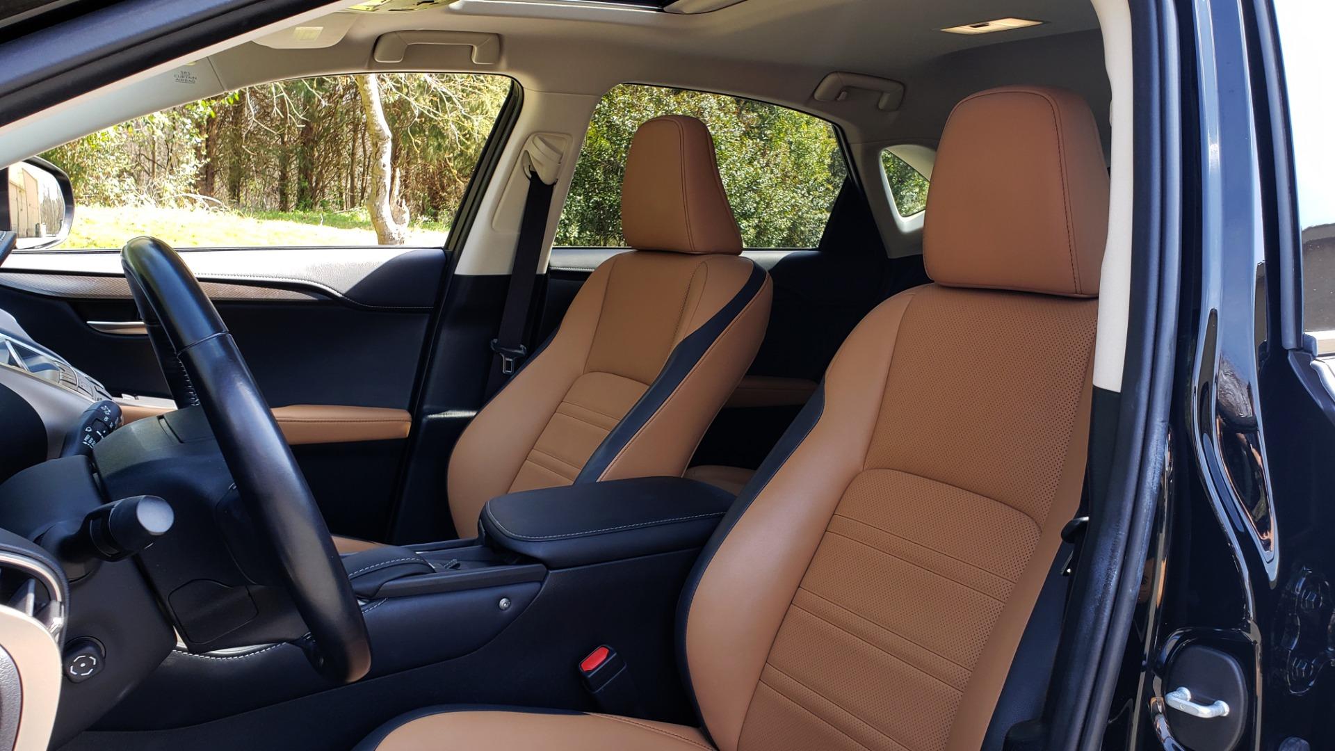 Used 2016 Lexus NX 200T PREM PKG / NAV / SUNROOF / PRE-COLLISION / PARK ASST for sale Sold at Formula Imports in Charlotte NC 28227 34