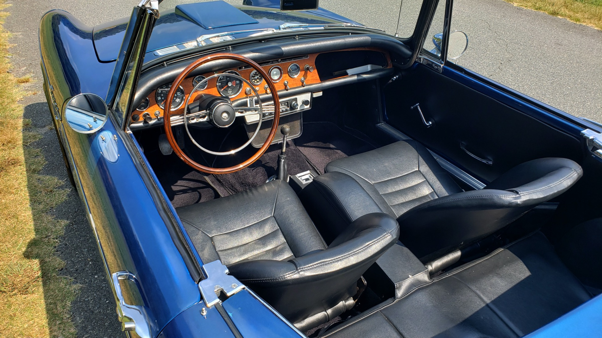 Used 1964 Sunbeam Tiger Convertible / 260ci V8 / 4-Speed Manual / Rear-Wheel Drive for sale $69,999 at Formula Imports in Charlotte NC 28227 9