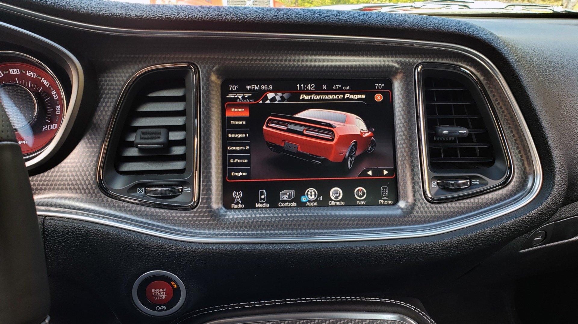 Used 2016 Dodge CHALLENGER SRT HELLCAT / NAV / SUNROOF / AUTO / REARVIEW for sale Sold at Formula Imports in Charlotte NC 28227 57