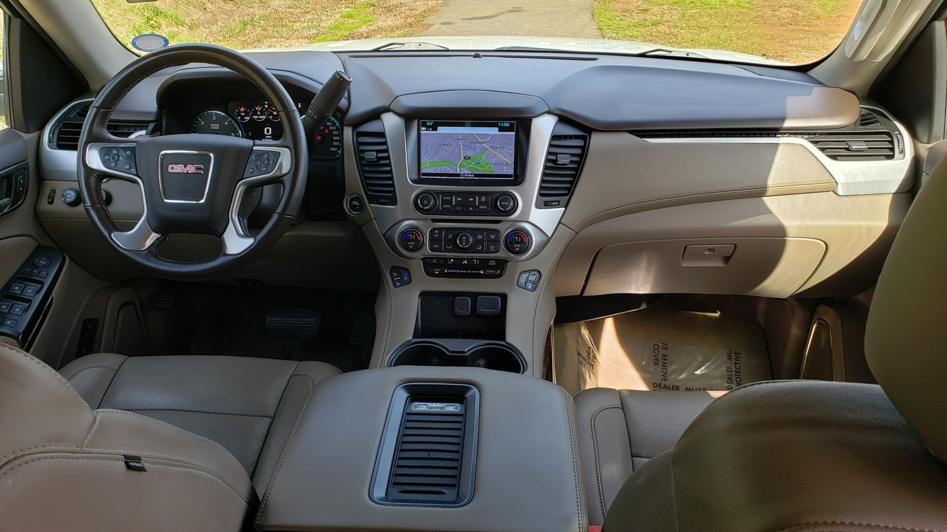 Used 2017 GMC YUKON SLT 4WD / NAV TOUCH SCREEN / BOSE / REARVIEW / 3-ROW for sale Sold at Formula Imports in Charlotte NC 28227 85