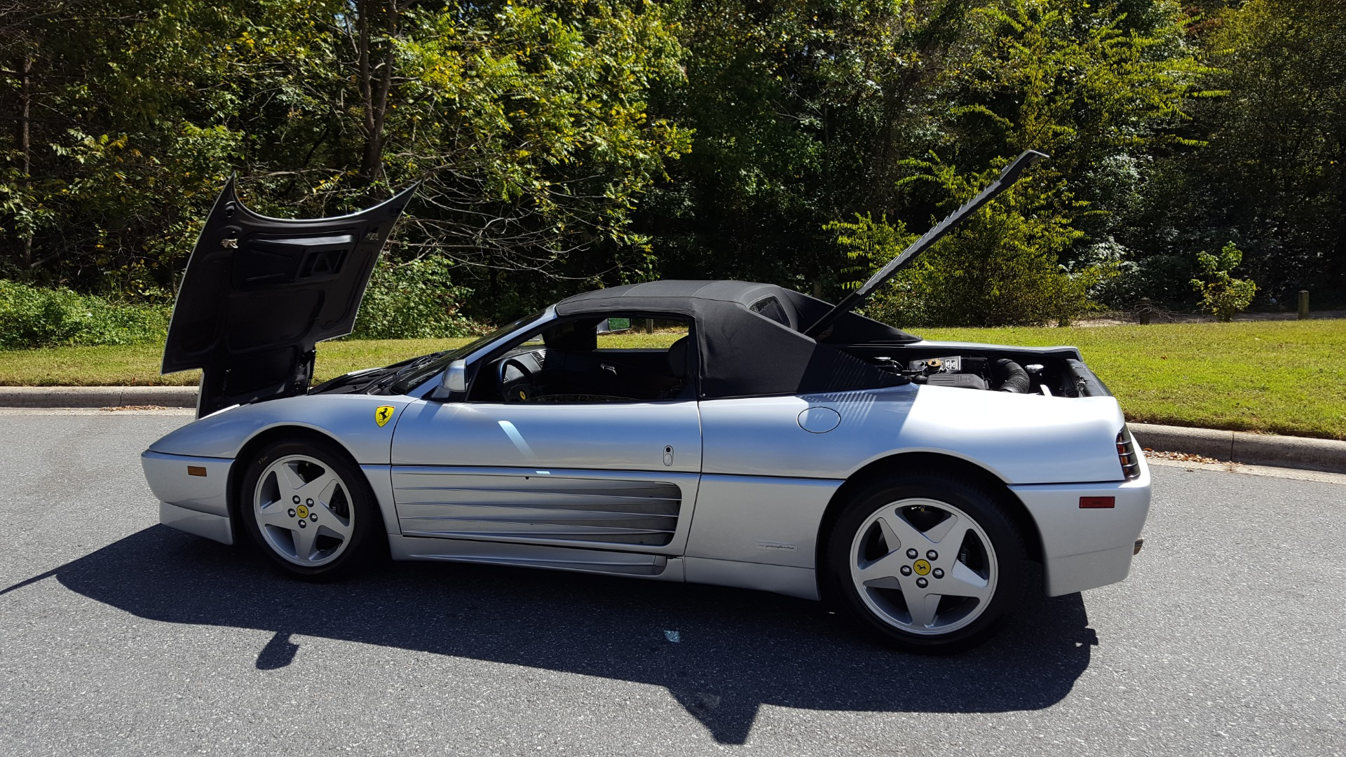 Used 1994 Ferrari 348 SPIDER CONVERTIBLE / GATED 5-SPD MANUAL for sale Sold at Formula Imports in Charlotte NC 28227 16