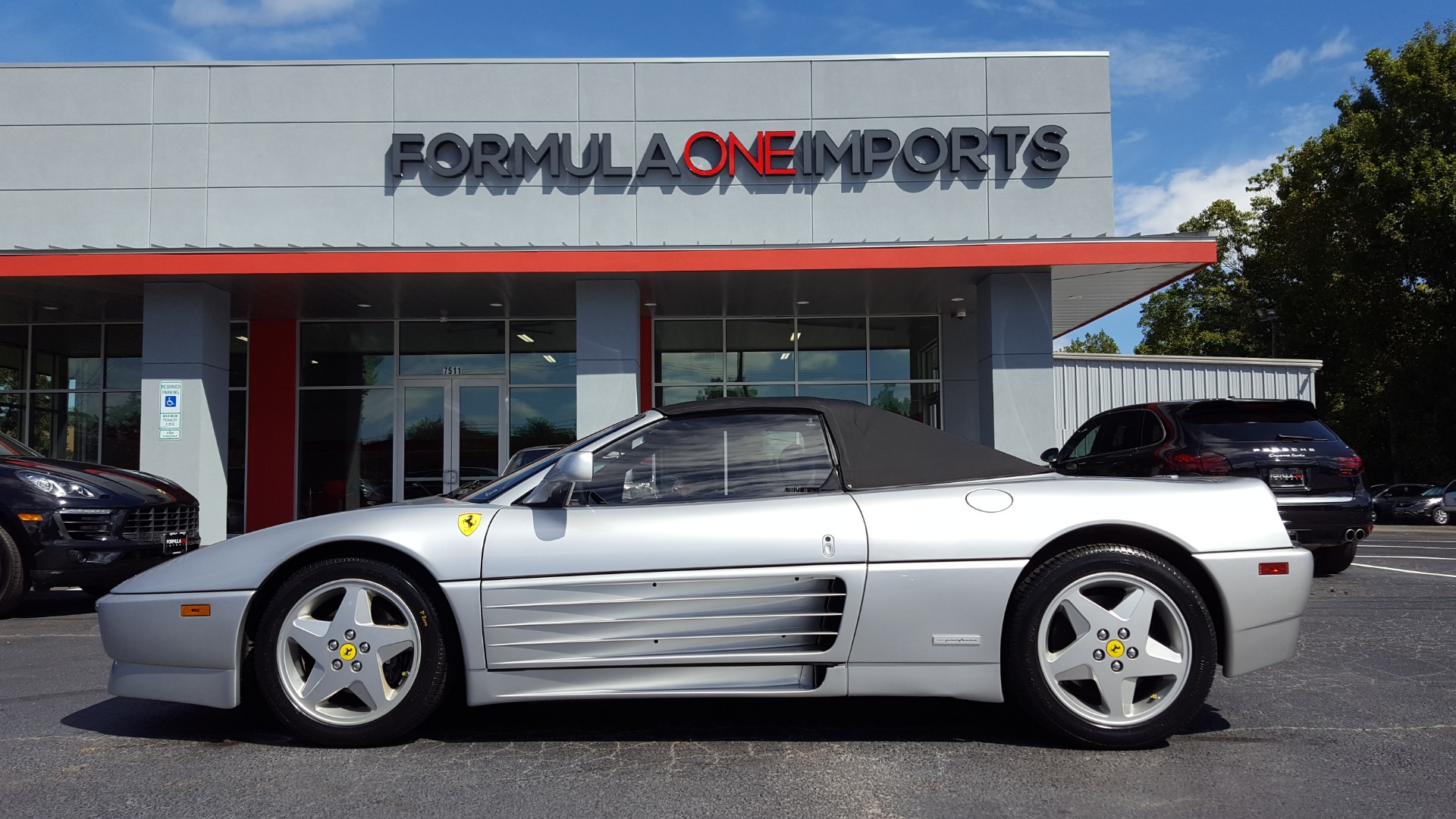 Used 1994 Ferrari 348 SPIDER CONVERTIBLE / GATED 5-SPD MANUAL for sale Sold at Formula Imports in Charlotte NC 28227 93