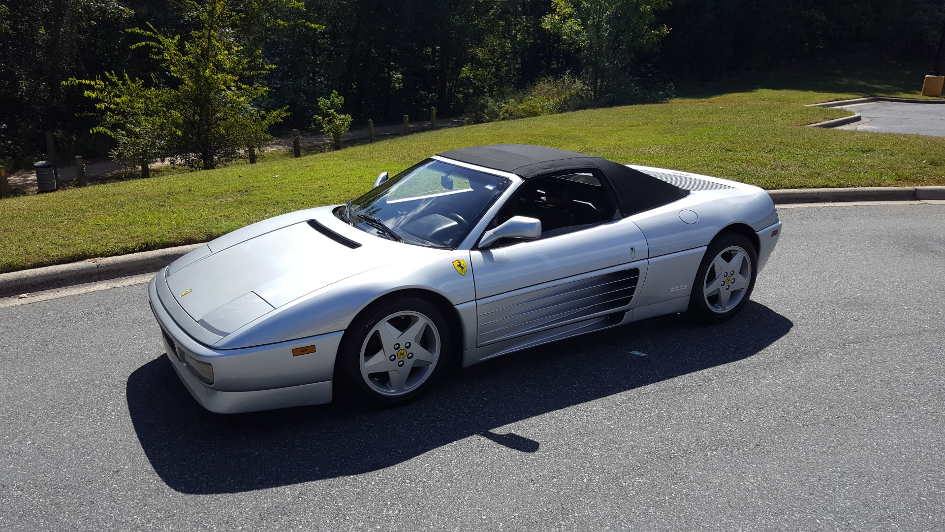 Used 1994 Ferrari 348 SPIDER CONVERTIBLE / GATED 5-SPD MANUAL for sale Sold at Formula Imports in Charlotte NC 28227 1